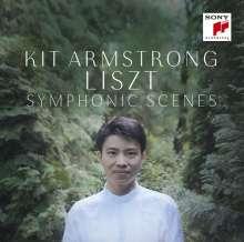 Franz Liszt (1811-1886): Klavierwerke - Symphonic Scenes, CD