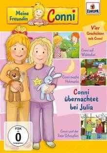Meine Freundin Conni 12: Conni übernachtet bei Julia, DVD