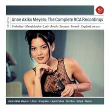 Anne Akiko Meyers - The Complete RCA Recordings, 6 CDs