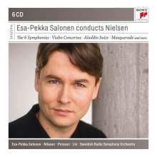Esa-Pekka Salonen conducts  Carl Nielsen, 6 CDs