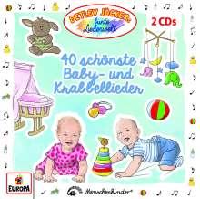 40 schönste Baby-und Krabbellieder, 2 CDs