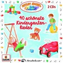 40 schönste Kindergartenlieder, 2 CDs