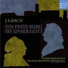 """Johann Sebastian Bach (1685-1750): Kantate BWV 80 """"Ein feste Burg ist unser Gott"""", CD"""