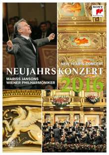 Neujahrskonzert 2016 der Wiener Philharmoniker, Blu-ray Disc