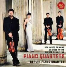 Berlin Piano Quartet - Brahms / Faure / Schnittke, CD
