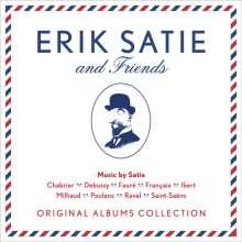 Erik Satie & Friends - Original Albums Collection, 13 CDs