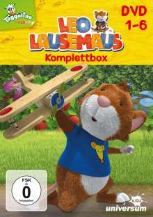 Leo Lausemaus DVD 1-6, 6 DVDs