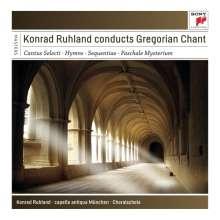 Konrad Ruhland conducts Gregorian Chant, 4 CDs
