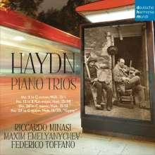 Joseph Haydn (1732-1809): Klaviertrios H.15 Nr.1, 13, 25, 38, CD