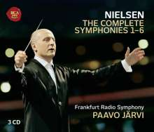 Carl Nielsen (1865-1931): Symphonien Nr.1-6, 3 CDs