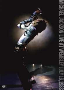 Michael Jackson: Live At Wembley July 16, 1988 (Amaray Case), DVD