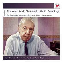 Malcolm Arnold (1921-2006): Sir Malcolm Arnold - The Complete Conifer Recordings, 11 CDs
