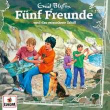 Fünf Freunde (Folge 119) und das versunkene Schiff, CD