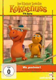 Der kleine Drache Kokosnuss DVD 12: Wie geschmiert, DVD