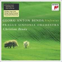 Georg Anton Benda (1722-1795): Symphonien Nr.2,3,5,7,8,10 (180g), LP