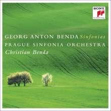 Georg Anton Benda (1722-1795): Symphonien Nr.2,3,5,7,8,10, CD