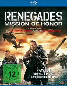 Renegades - Mission of Honor (Blu-ray), Blu-ray Disc
