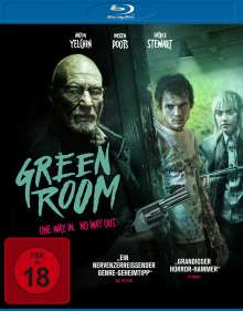 Green Room (Blu-ray), Blu-ray Disc