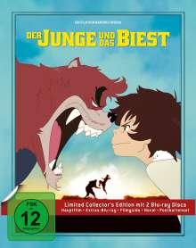 Der Junge und das Biest (Limited Edition) (Blu-ray), 2 Blu-ray Discs