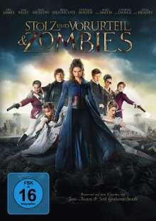 Stolz und Vorurteil & Zombies, DVD