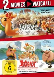 Asterix und die Wikinger / Asterix im Land der Götter, 2 DVDs