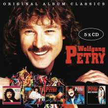 Wolfgang Petry: Original Album Classics - (2nd Edition), 5 CDs