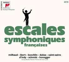 Escales Symphoniques Francaises, 4 CDs