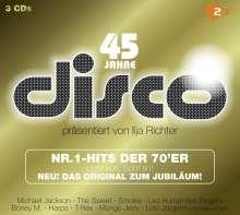 Nr.1 Hits der 70er (45 Jahre ZDF Disco), 3 CDs