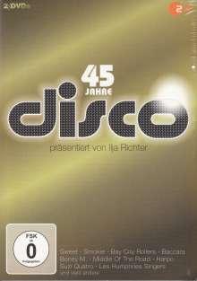 Nr.1 Hits der 70er (45 Jahre ZDF Disco), 2 DVDs