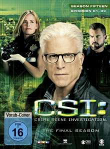 CSI Las Vegas Season 15 (finale Staffel) Box 1, 3 DVDs