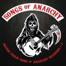 Filmmusik: Songs Of Anarchy: Music From Sons Of Anarchy Season 1 - 4, CD
