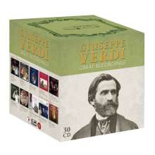 Giuseppe Verdi (1813-1901): Great Recordings, 30 CDs