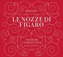 Wolfgang Amadeus Mozart (1756-1791): Die Hochzeit des Figaro (180g), 4 LPs