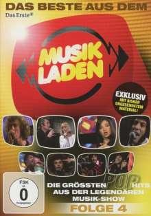 Das Beste aus dem Musikladen: Die größten Pop-Hits (Folge 4), DVD