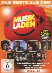 Das Beste aus dem Musikladen: Die größten Hits aus der legendären Musik-Show Vol. 2 (Folgen 4, 5, 6), 3 DVDs