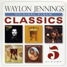 Waylon Jennings: Original Album Classics, 5 CDs