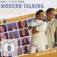 Modern Talking: Music & Video Stars (CD + DVD), 1 CD und 1 DVD