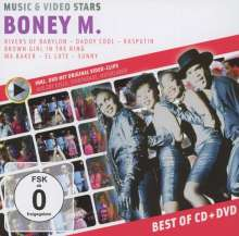Boney M.: Music & Video Stars (CD + DVD), CD