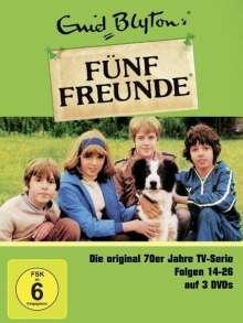 Fünf Freunde Episoden 14-26, 3 DVDs