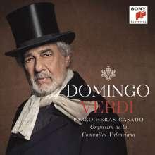 Placido Domingo singt Verdi-Arien für Bariton, CD