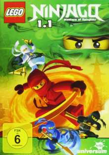 LEGO Ninjago - Staffel 1.1, DVD