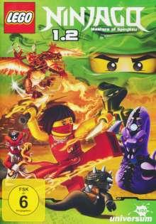 LEGO Ninjago - Staffel 1.2, DVD