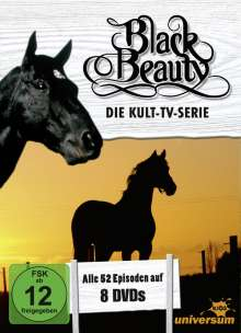 Black Beauty (Komplette Serie), 8 DVDs