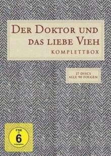 Der Doktor und das liebe Vieh (Komplette Serie), 27 DVDs