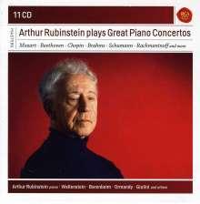 Arthur Rubinstein plays great Piano Concertos, 11 CDs