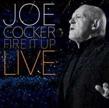 Joe Cocker: Fire It Up: Live 2013 (2 CD + DVD + Buch), 2 CDs