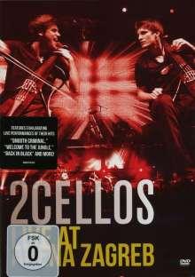 2 Cellos - Live at Arena Zagreb, DVD