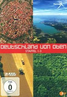 Deutschland von oben Staffel 1-3, 3 DVDs
