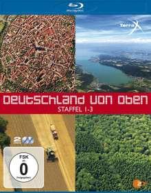 Deutschland von oben Staffel 1-3 (Blu-ray), 3 Blu-ray Discs