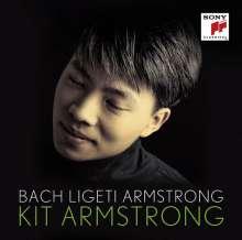 Kit Armstrong - Bach/Ligeti/Armstrong, CD